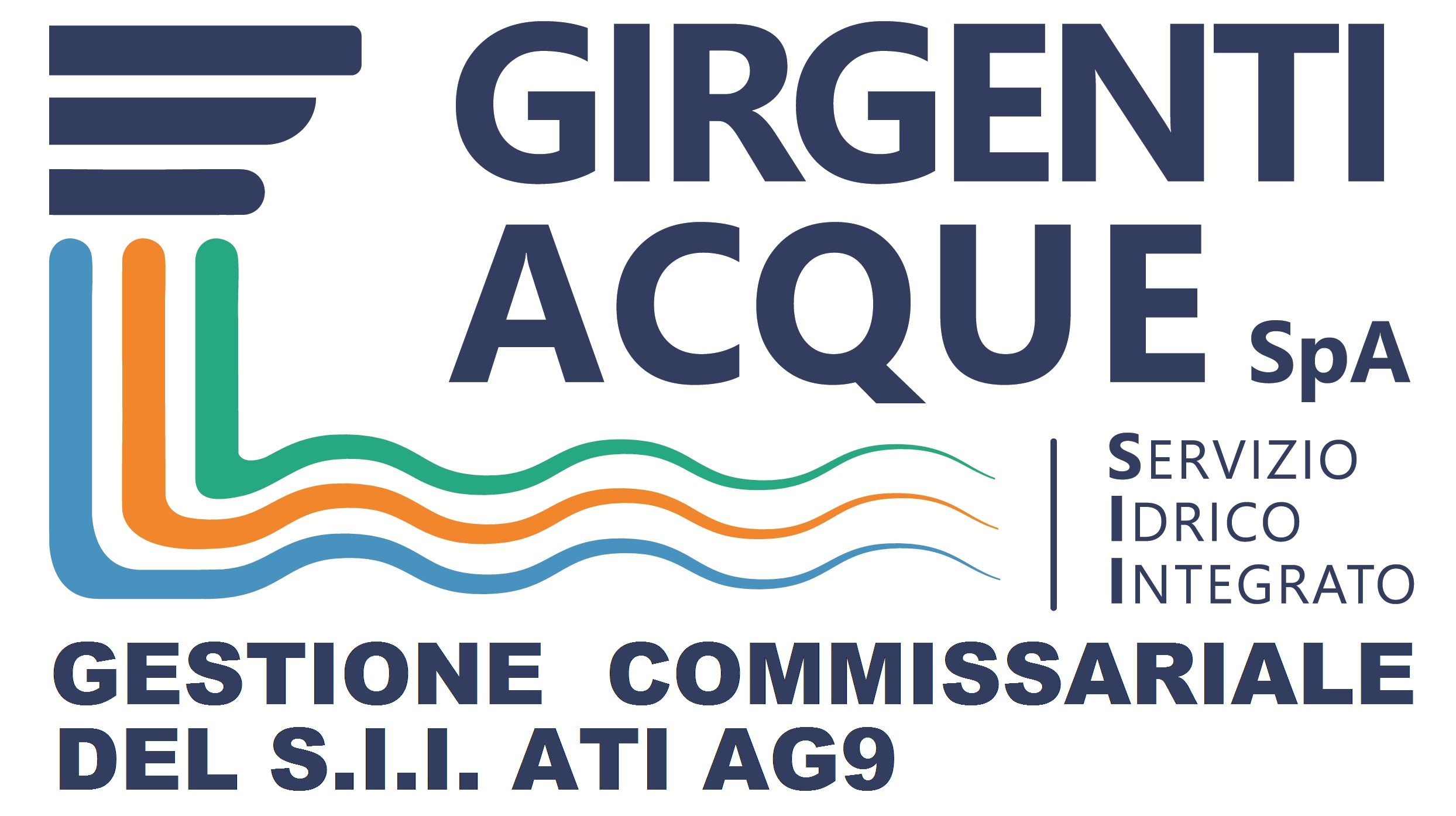LOGO GIRGENTI ACQUE GESTIONE COMMISSARIALE